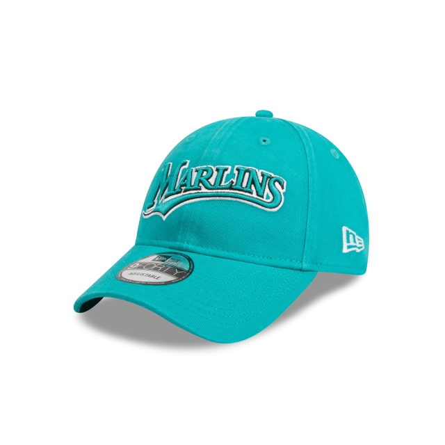 Florida Marlins Cooperstown Teal 9forty | New Era Cap