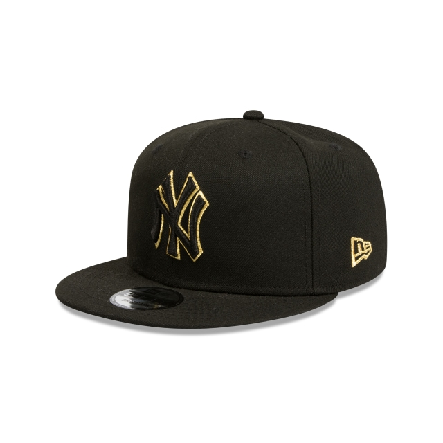 New York Yankees Black And Gold 9fifty Snapback | New York Yankees Baseball Caps | New Era Cap