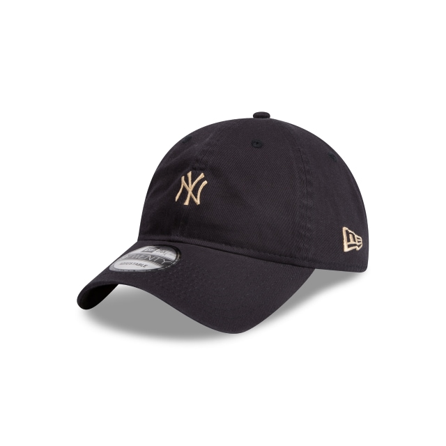 New York Yankees Mini Logo Navy 9TWENTY | New York Yankees Hats | New Era Cap