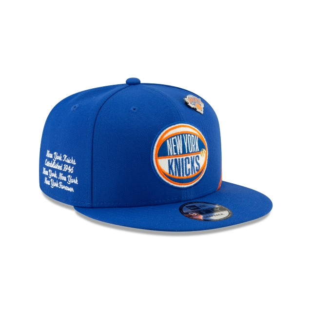 outlet store d9332 53375 New York Knicks Nba Authentics Draft Series 9fifty   New York Knicks  Basketball Caps   New