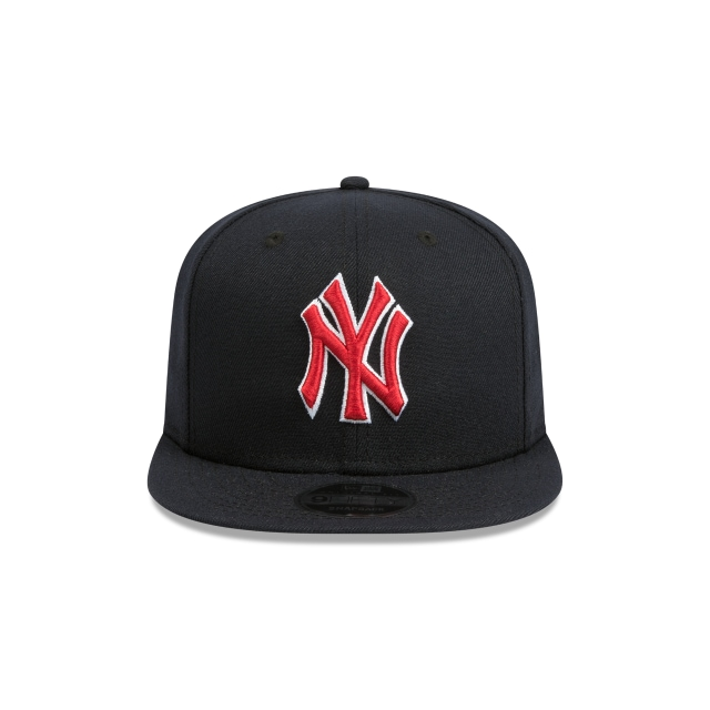 New York Yankees Navy And Red 9fifty Original Fit Snapback | New York Yankees Baseball Caps | New Era Cap