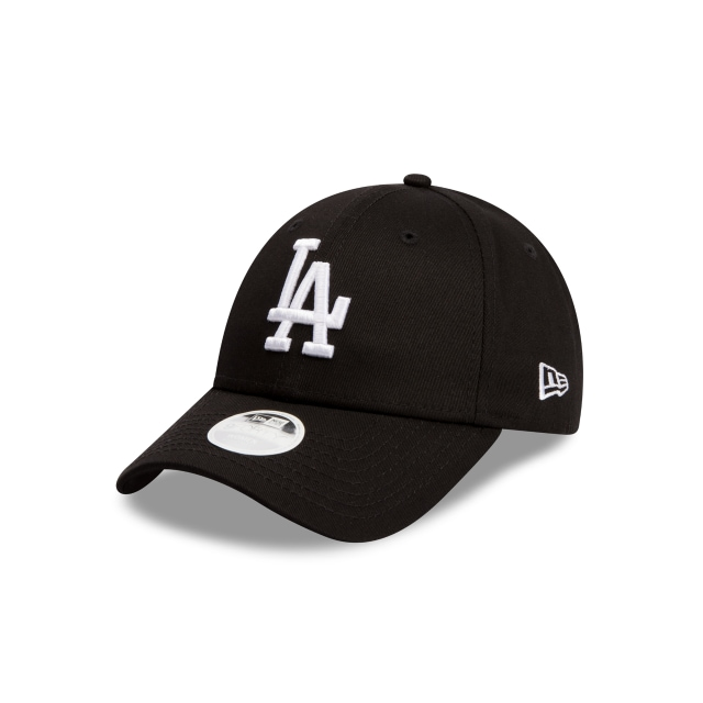 Los Angeles Dodgers Black Tape Womens 9forty | New Era Cap