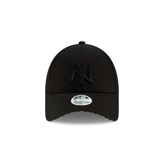 New York Yankees Visor Script Womens 9FORTY | New York Yankees Hats | New Era Cap