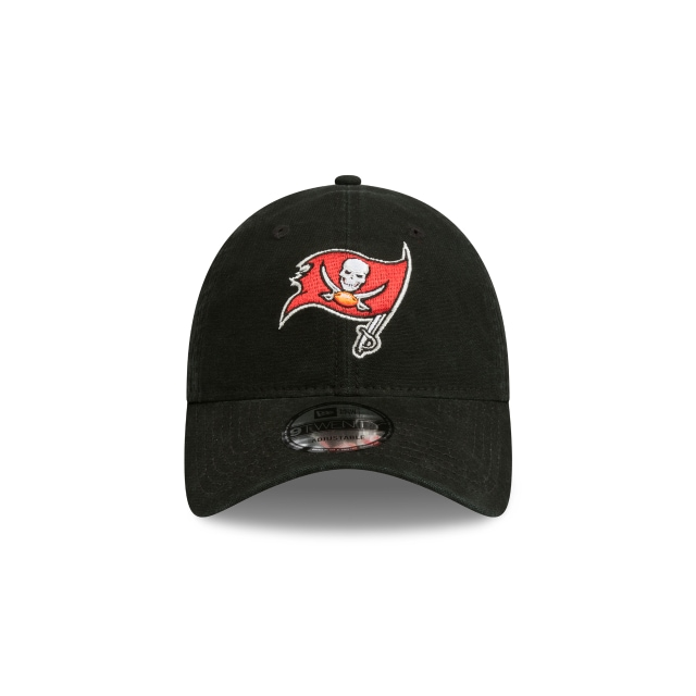 Tampa Bay Buccaneers Washed Black Canvas 9twenty | Tampa Bay Buccaneers Football Caps | New Era Cap