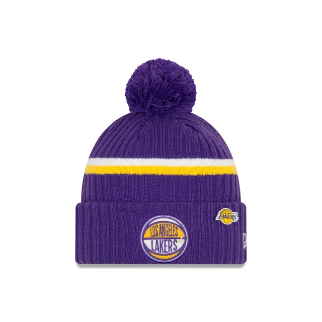 Los Angeles Lakers Nba Authentics Draft Series Beanie | New Era Cap