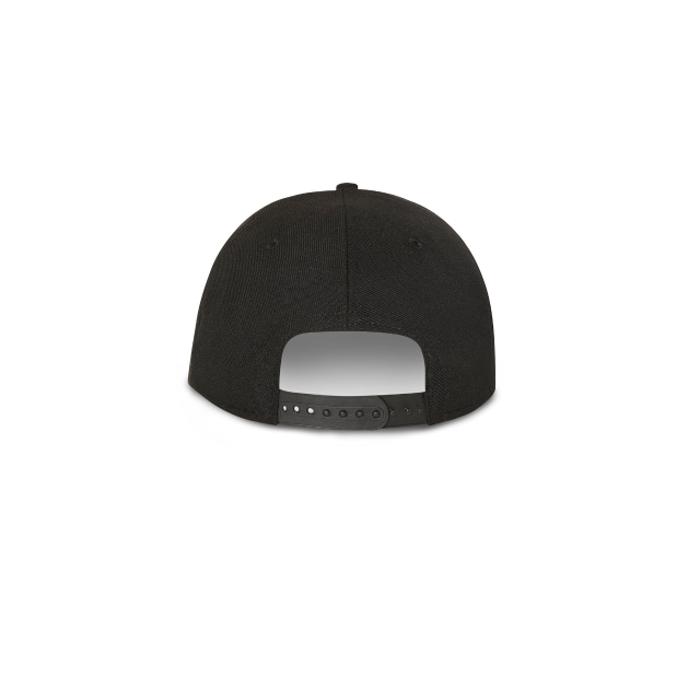 Los Angeles Dodgers Black On Black 9fifty Snapback | Los Angeles Dodgers Baseball Caps | New Era Cap