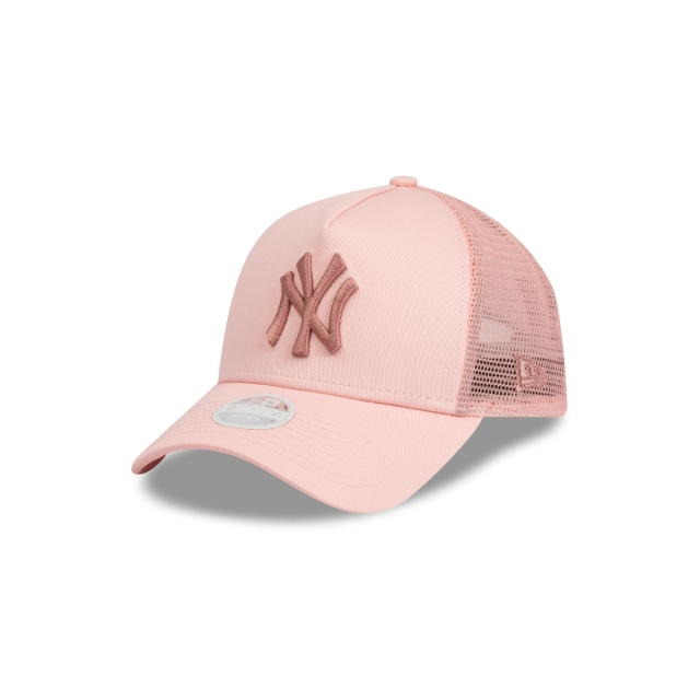 New York Yankees Pink Womens 9forty A-frame Trucker | New Era Cap