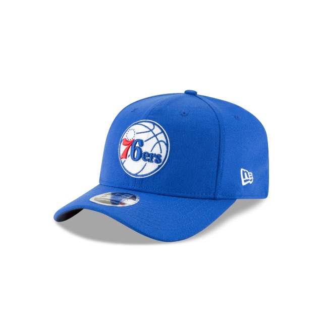 Philadelphia 76ers Blue 9fifty Stretch Snapback | New Era Cap