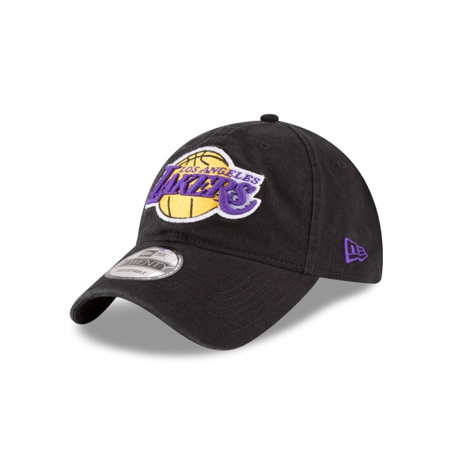 Los Angeles Lakers Black 9twenty | Los Angeles Lakers Basketball Caps | New Era Cap