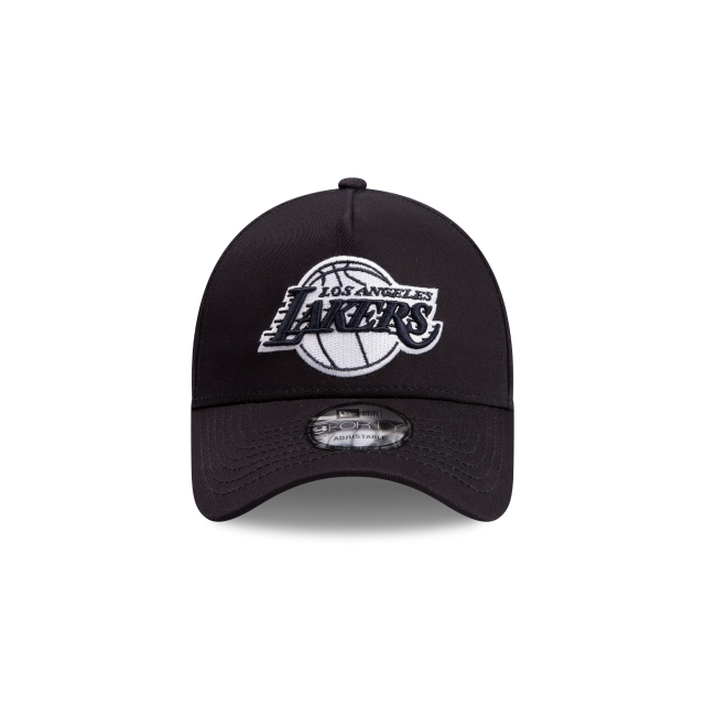 Los Angeles Lakers Navy Grey 9FORTY A-frame | Los Angeles Lakers Hats | New Era Cap