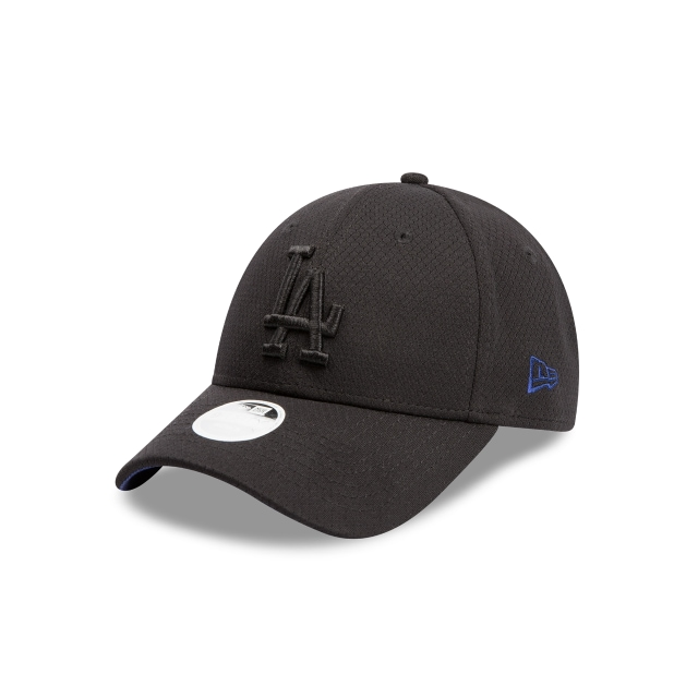 Los Angeles Dodgers Black Mesh Womens 9forty | New Era Cap