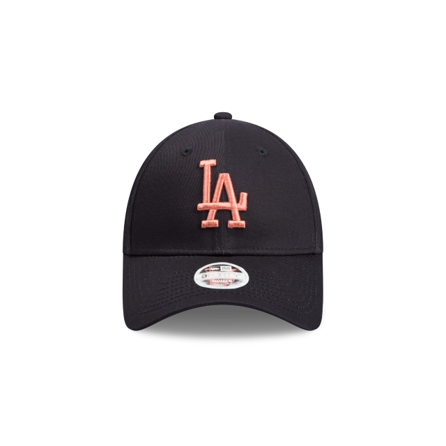 Los Angeles Dodgers Navy Bronze Womens 9forty | Los Angeles Dodgers Baseball Caps | New Era Cap