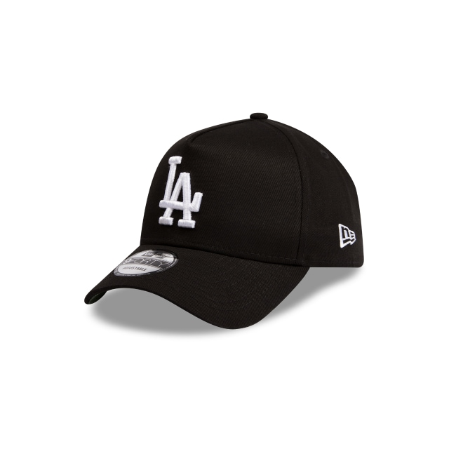 Los Angeles Dodgers Black Green 9forty A-frame | Los Angeles Dodgers Baseball Caps | New Era Cap