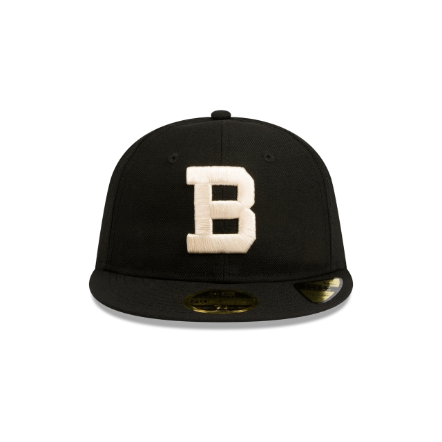 Brooklyn Dodgers Cooperstown Black Retro Crown 59FIFTY Fitted | Los Angeles Dodgers Hats | New Era Cap
