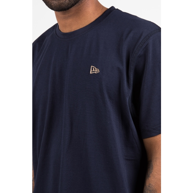 New Era Branded  Navy Premium Classics Clubroom T-shirt | Premium Classic Pack Caps | New Era Cap
