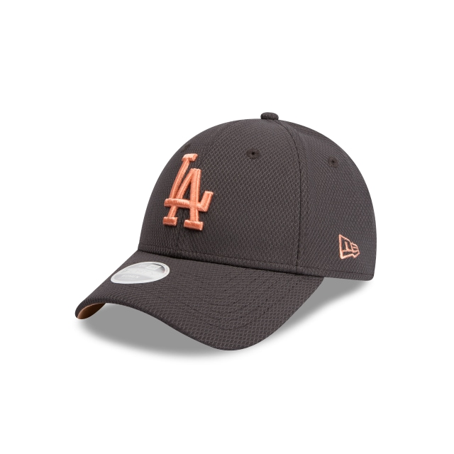 Los Angeles Dodgers Graphite Peach Womens 9forty | New Era Cap