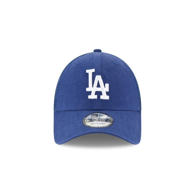 Los Angeles Dodgers Dark Royal 9forty Trucker | Los Angeles Dodgers Baseball Caps | New Era Cap
