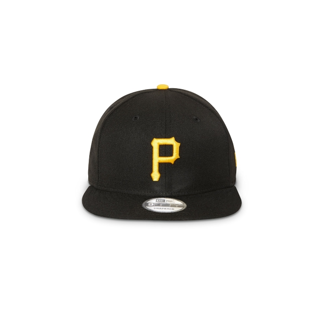 Pittsburgh Pirates Black 9FIFTY Snapback | Pittsburgh Pirates Hats | New Era Cap