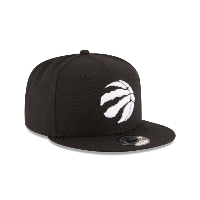 Toronto Raptors NBA Logo Black 9FIFTY | Toronto Raptors Hats | New Era Cap