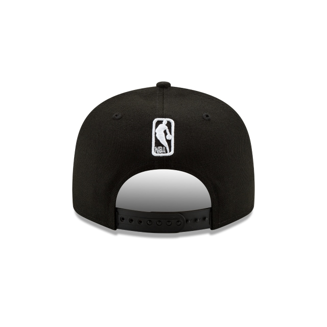 Toronto Raptors Nba Authentics Back Half Series Black 9fifty Snapback | Toronto Raptors Basketball Caps | New Era Cap