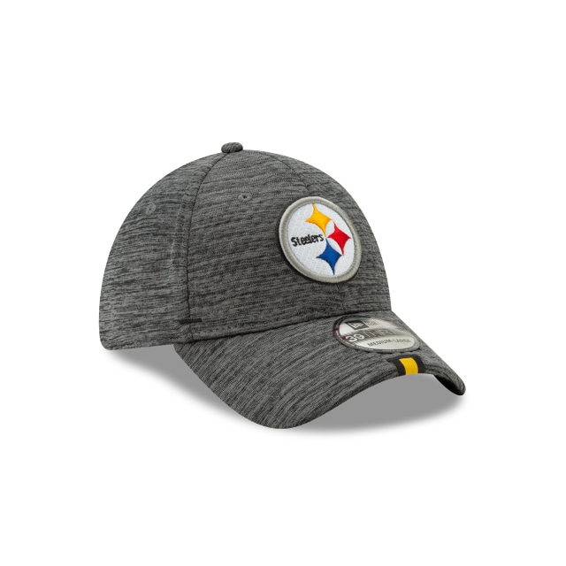 Pittsburgh Steelers Nfl Training Graphite 39thirty Stretch Fit | Pittsburgh Steelers Football Caps | New Era Cap