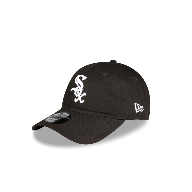 Chicago White Sox Black 9twenty | Chicago White Sox Baseball Caps | New Era Cap