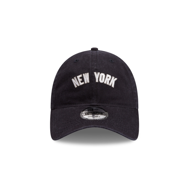 New York Yankees Navy Wash 9twenty | New York Yankees Baseball Caps | New Era Cap