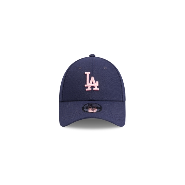 Los Angeles Dodgers Dark Royal Pink Youth 9forty | Los Angeles Dodgers Baseball Caps | New Era Cap