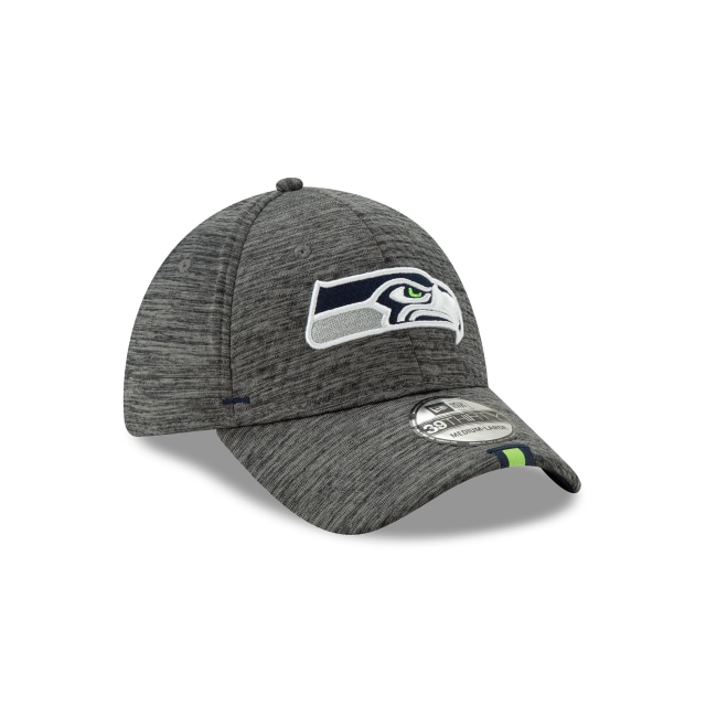 Seattle Seahawks Nfl Training Graphite 39thirty Stretch Fit | Seattle Seahawks Football Caps | New Era Cap