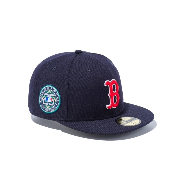 Boston Red Sox 25th Anniversary MLB On Field Collection 59FIFTY Fitted | Boston Red Sox Hats | New Era Cap