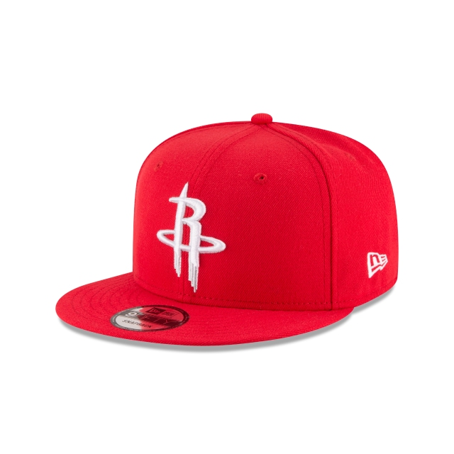 Houston Rockets Red 9FIFTY | Houston Rockets Hats | New Era Cap