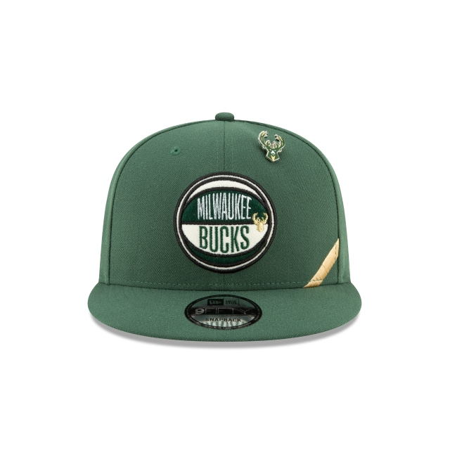 Milwaukee Bucks NBA Authentics Draft Series 9FIFTY | Milwaukee Bucks Hats | New Era Cap