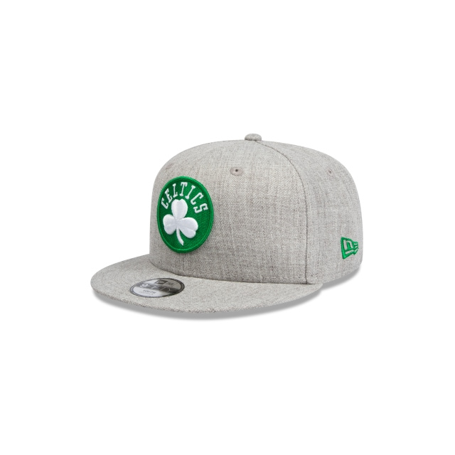 Boston Celtics Heather Grey Youth 9fifty | New Era Cap