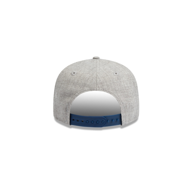 Philadelphia 76ers Heather Grey Youth 9fifty | Philadelphia 76ers Basketball Caps | New Era Cap