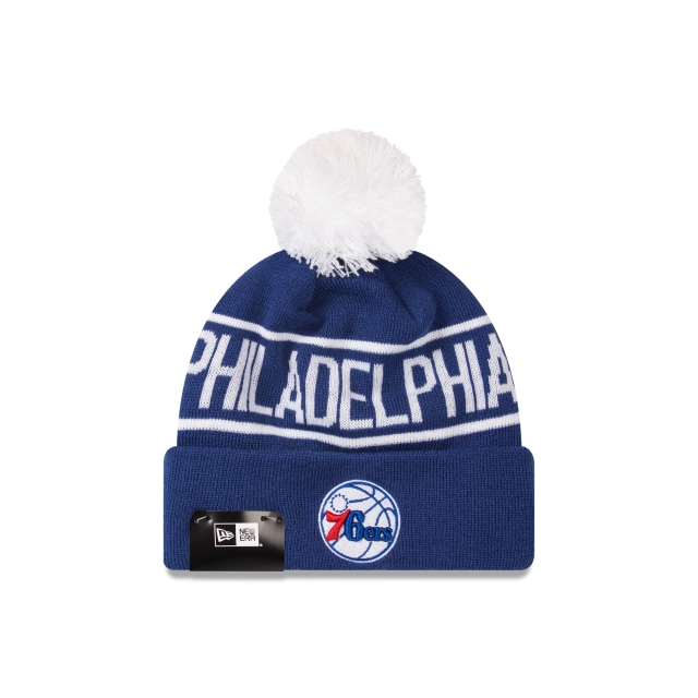 Philadelphia 76ers Celtics Original Team Colours Pom Pom Knit | New Era Cap