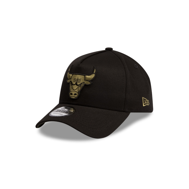 Chicago Bulls Black And Olive 9forty A-frame | New Era Cap
