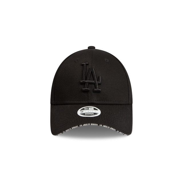 Los Angeles Dodgers Visor Script Womens 9forty | Los Angeles Dodgers Baseball Caps | New Era Cap