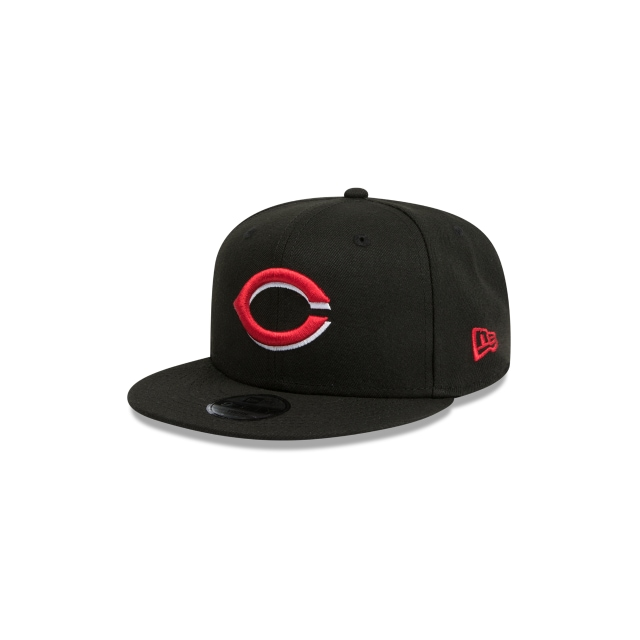 Cincinnati Reds Black Youth 9FIFTY | Cincinnati Reds Hats | New Era Cap