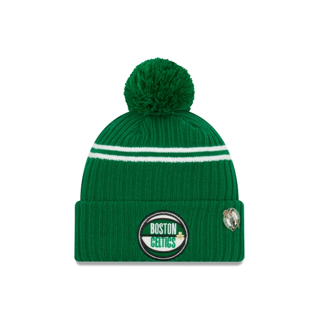 Boston Celtics NBA Authentics Draft Series Beanie | Boston Celtics Hats | New Era Cap