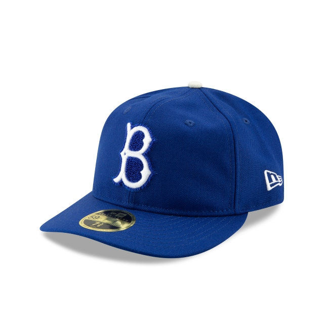 Jackie Robinson Brooklyn Dodgers Retro Crown 59FIFTY Fitted | Los Angeles Dodgers Hats | New Era Cap