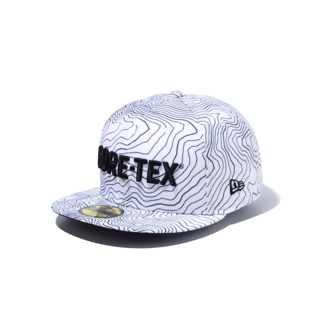 Gore-tex Geological Black Print 59fifty Fitted | New Era Cap