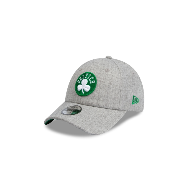 Boston Celtics Heather Grey Youth 9forty | New Era Cap