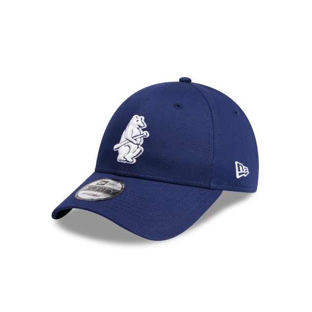 Chicago Cubs Cooperstown Navy 9forty | Chicago Cubs Baseball Caps | New Era Cap