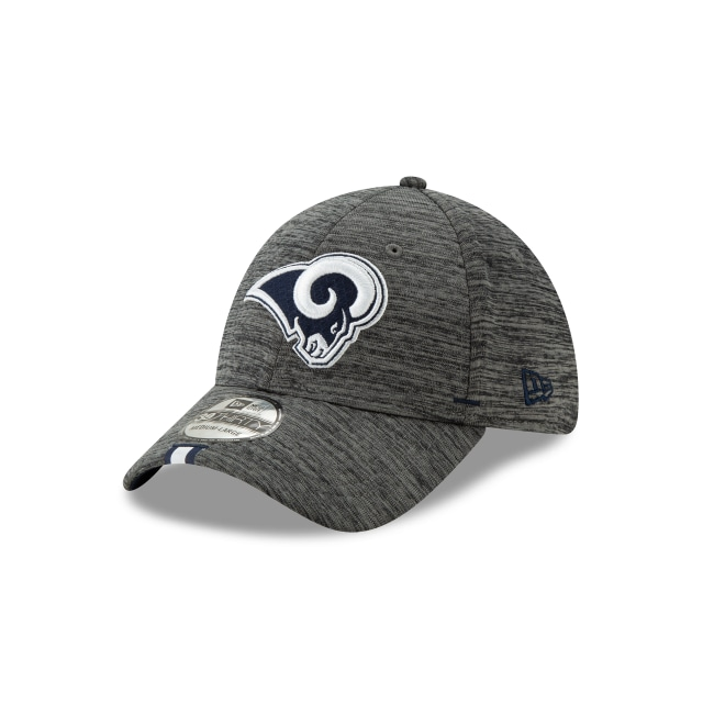 Los Angeles Rams Nfl Training Graphite 39thirty Stretch Fit | New Era Cap