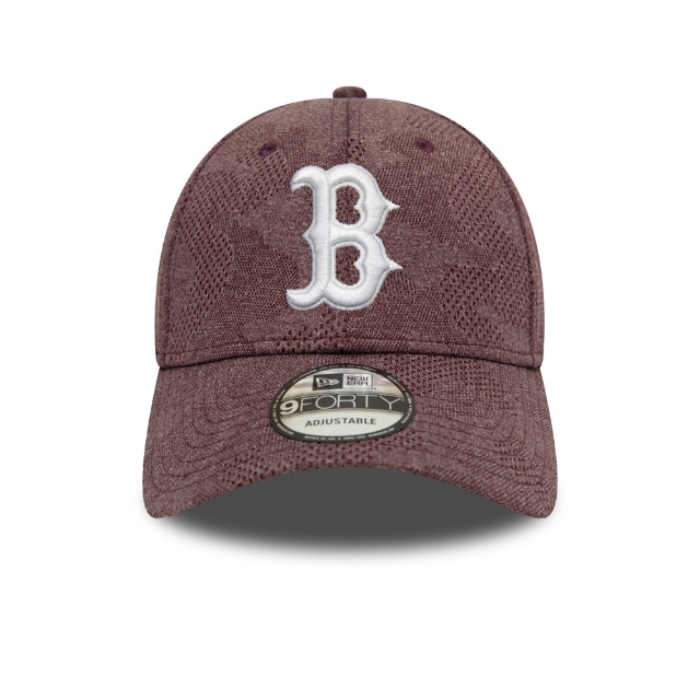 Boston Red Sox Engineered Plus Maroon 9forty | Boston Red Sox Baseball Caps | New Era Cap