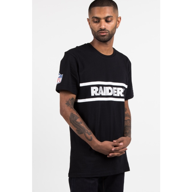 Oakland Raiders Black T-shirt | New Era Cap
