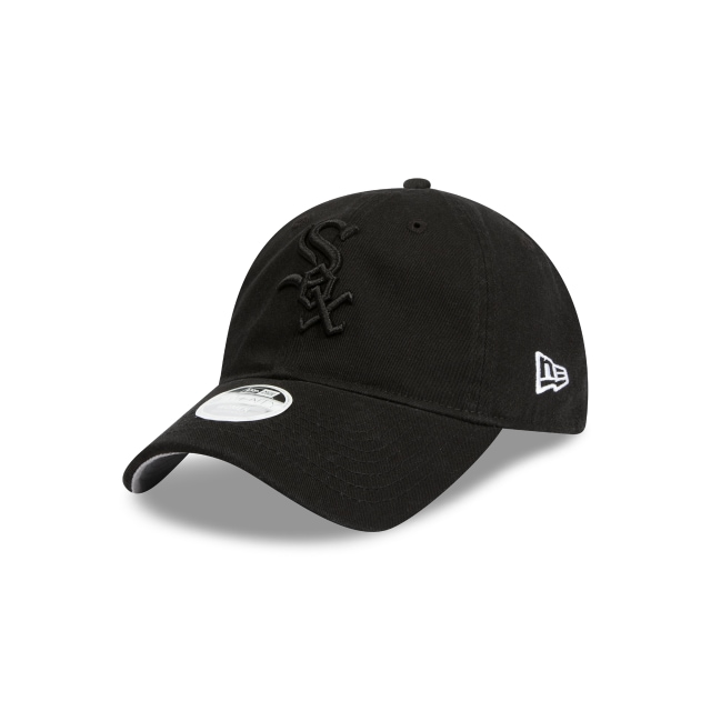 Chicago White Sox Washed Black Womens 9twenty | Chicago White Sox Baseball Caps | New Era Cap
