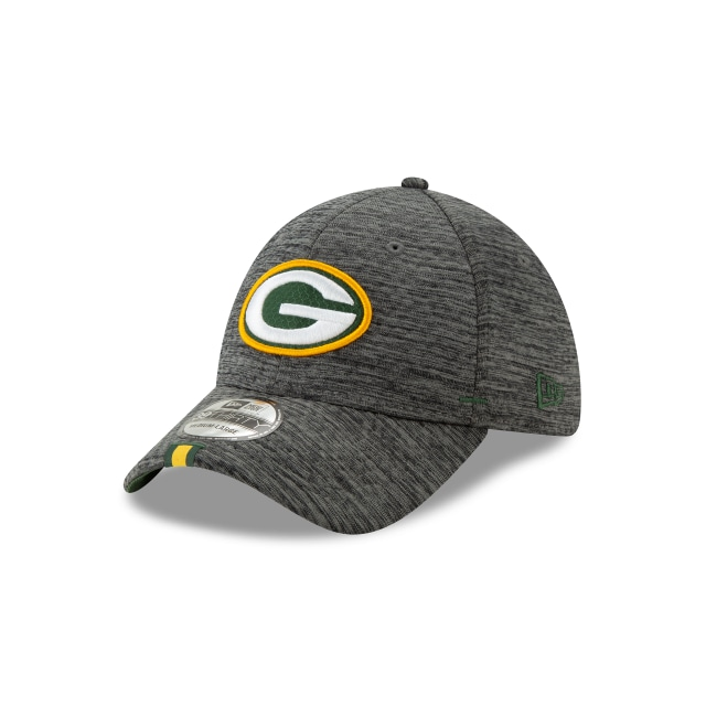 Green Bay Packers Nfl Training Graphite 39thirty Stretch Fit | New Era Cap
