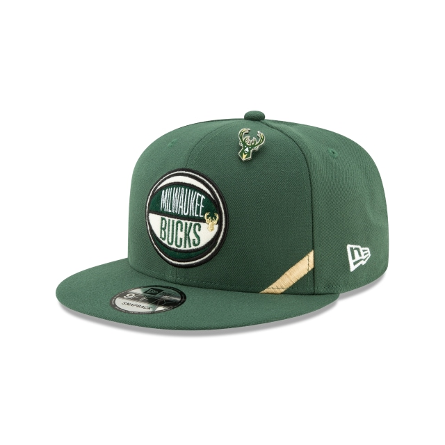 Milwaukee Bucks Nba Authentics Draft Series 9fifty | New Era Cap