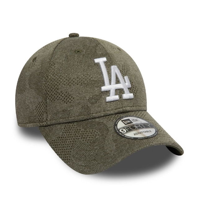 Los Angeles Dodgers Engineered Plus Olive 9forty | Los Angeles Dodgers Baseball Caps | New Era Cap